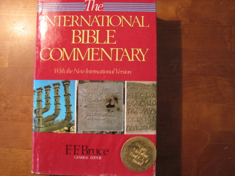 The International Bible Commentary with the New International Version, F.F. Bruce