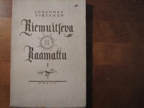 Riemuitseva Raamattu 1, Vanha Testamentti, Johannes Virtanen, d2