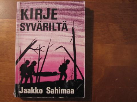 Kirje Syväriltä, Jaakko Sahimaa, d2