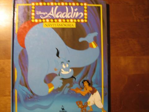 Aladdin, näyttämökirja