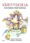 Hevonen parturissa, värityskirja, Jukka Salminen, Markku Pitkänen