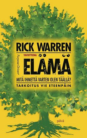 Tavoitteena elämä, Rick Warren, u
