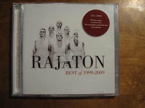 Best of 1999-2009, Rajaton, CD+DVD