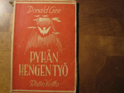 Pyhän Hengen työ, Donald Gee, d2