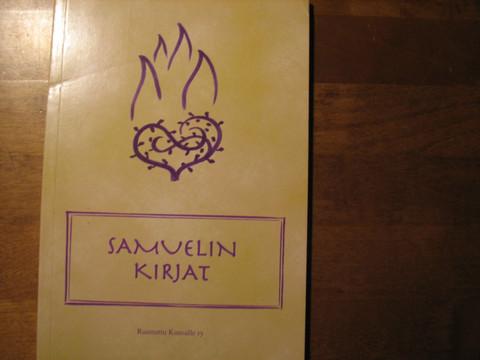 Samuelin kirjat, käännösehdotus, RK
