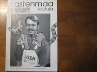 Lastenmaa-lauluja, Jukka Salminen ja lapset, nuottikirja