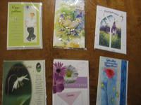 Valikoima erilaisia 2-osaisia kortteja 8 kpl