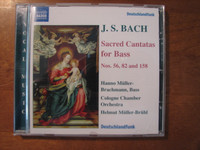 J.S. Bach, Sacred Cantatas for Bass