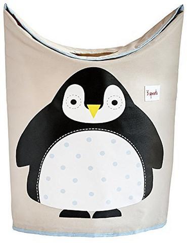 3 Sprouts Pyykkikori Pingviini