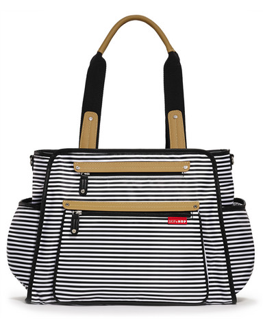 Uutuus! Skip Hop Hoitolaukku Grand Central (Black Stripe)