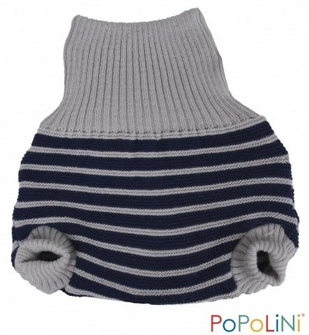Popolini villahousut (Grey-blue stripes)