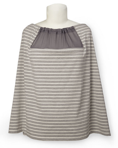 Skip Hop Imetyshuivi Grab & Go Hide & Chic Grey Stripe