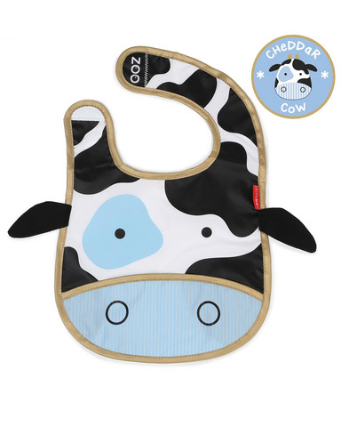 Skip Hop Lehmä Ruokalappu