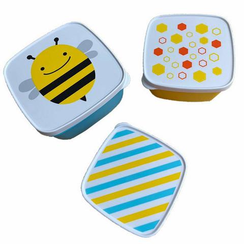 Skip Hop Eväsboxi Setti (3 kpl) Mehiläinen