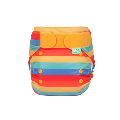 Tots Bots Easyfit Star Rainbow Stripe