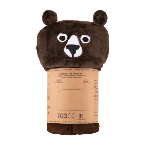 Zoocchini Lasten Hupullinen Peitto - Bosley The Bear