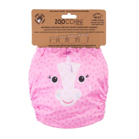 Zoocchini yhdenkoon taskuvaippa - Allie The Alicorn