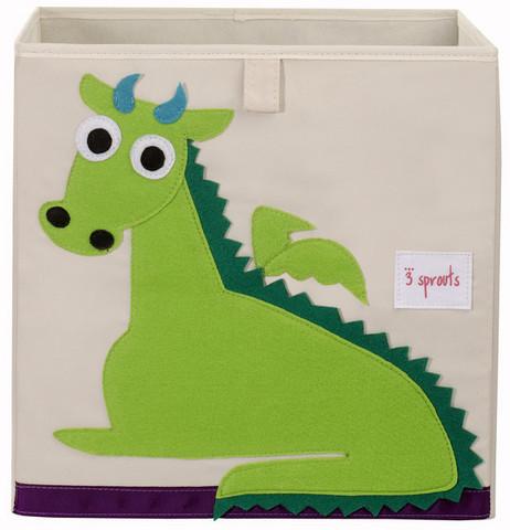 3 Sprouts Säilytyslaatikko Lohikäärme