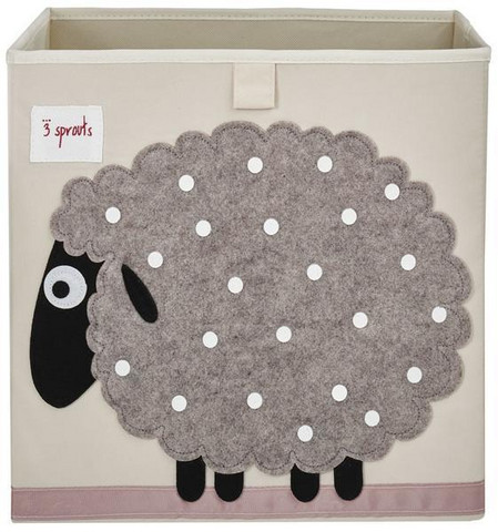 3 Sprouts Säilytyslaatikko Lammas