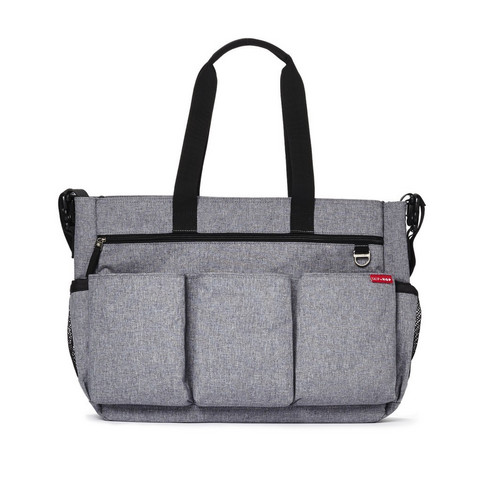 Skip Hop Duo Double Hoitolaukku (Heather Grey)