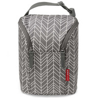 Skip Hop Grab & Go - Termolaukku pulloille Grey Feather