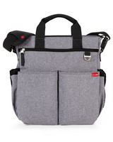 Uutuus! Skip Hop Duo Signature Hoitolaukku (Heather Grey)