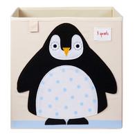 3 Sprouts Säilytyslaatikko Pingviini