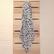 Muslinz harso bambu/puuvilla 120 cm x 120 cm Leopardi