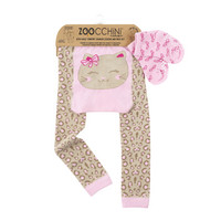 Zoocchini leggingsit + sukat setti (Kallie the Kitten)
