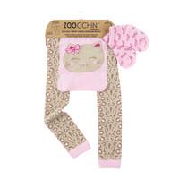 Zoocchini leggingsit + sukat setti (Kallie the Kitten)
