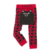 Zoocchini leggingsit + sukat setti (Bosley the Bear)