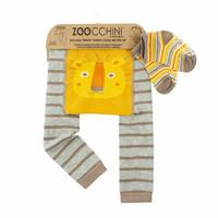 Zoocchini leggingsit + sukat setti (Leo The Lion)