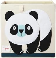 3 Sprouts Säilytyslaatikko Panda
