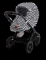 Baby Wallaby Sadesuoja Mustavalkoraidallinen