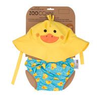Zoocchini uimavaippa- ja aurinkohattusetti, Puddles The Duck