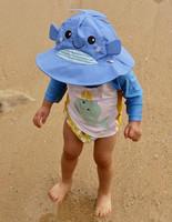 Zoocchini uimavaippa- ja aurinkohattusetti, Willy The Whale