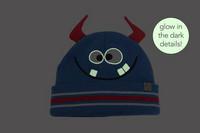 FlapJackKids Lasten Neulepipo - Monster