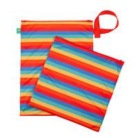 Tots Bots Wet & Dry vaippapussi Rainbow Stripe