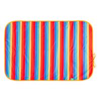 Tots Bots Happy Mat - Hoitoalusta Rainbow Stripe