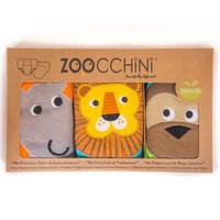 Zoocchini Harjoitteluhousut 3 kpl Safari Friends pojille