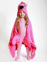 Zoocchini Hupullinen pyyhe Franny the Flamingo