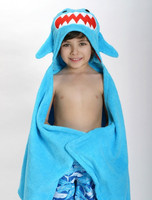 Zoocchini Hupullinen pyyhe Sherman the Shark