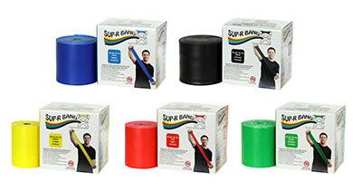 SUP-R BAND latex free vastusnauha 45,7 m