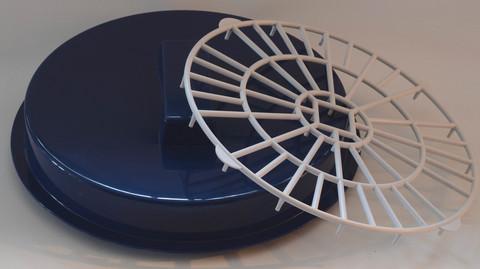 Lämpökattila muovinen pohjaritilä [3509]