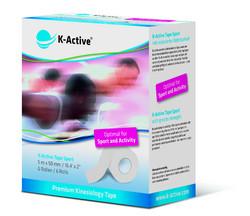 K-Active SPORT Kinesioteippi 50mm x 5m,  6 rullan paketti