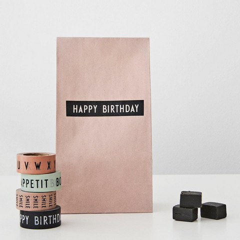 SAY IT WITH TAPE - HAPPY BIRTHDAY & A-Z