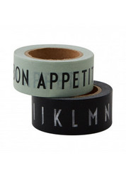SAY IT WITH TAPE - BON APPETIT & A-Z