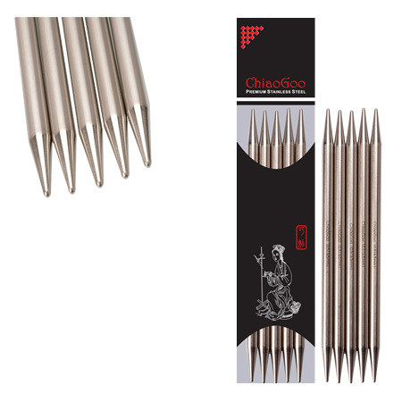 ChiaoGoo Stainless Steel Sukkapuikot 20 cm