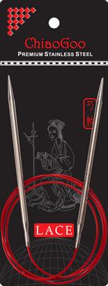 ChiaoGoo Red Lace Pyöröpuikot 100 cm