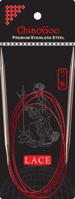 ChiaoGoo Red Lace Pyöröpuikot 120 cm